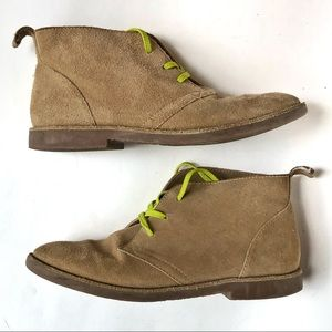Lands End boys suede boot